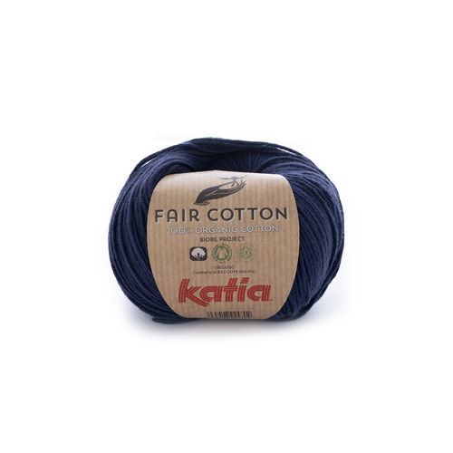 "Katia ""Fair Cotton"", Dunkelblau, Fb. 5"