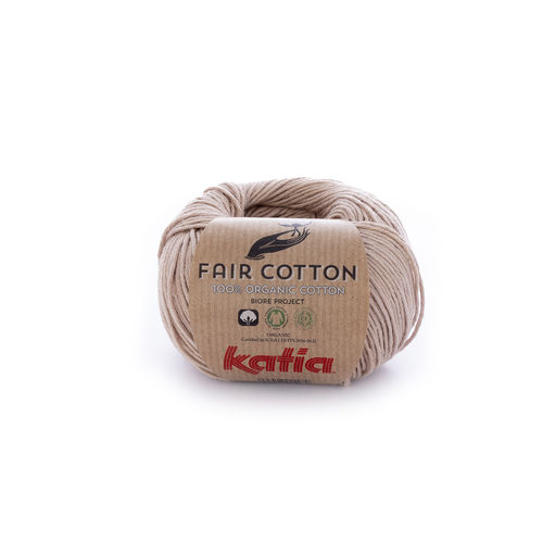 "Katia ""Fair Cotton"", Sepiabraun, Fb. 12"
