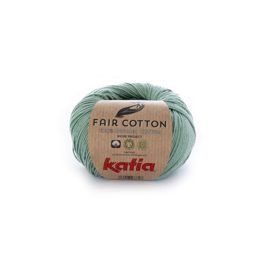 "Katia ""Fair Cotton"", Minzgrün, Fb. 17"