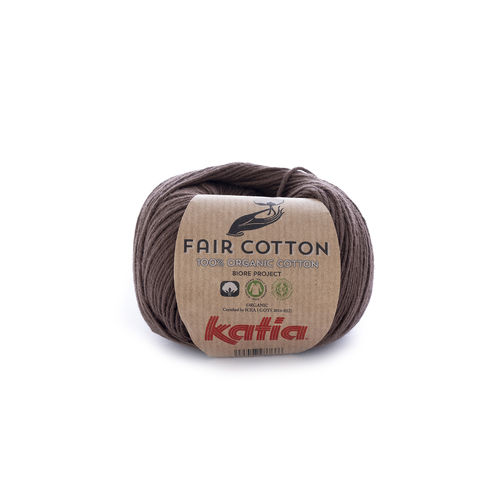 "Katia ""Fair Cotton"", Braun, Fb. 25"