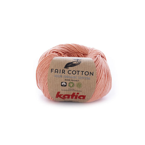 "Katia ""Fair Cotton"", Lachsorange, Fb. 28"
