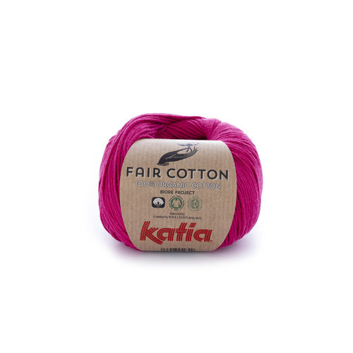"Katia ""Fair Cotton"", Himbeerrot, Fb. 32"