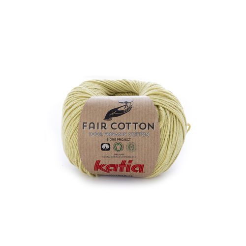 "Katia ""Fair Cotton"", Pistaziengrün, Fb. 34"