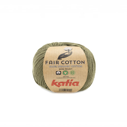 "Katia ""Fair Cotton"", Khaki, Fb. 36"