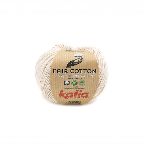 "Katia ""Fair Cotton"",  Beige, Fb. 35"