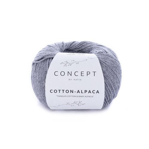 "Katia  ""Cotton-Alpaca"", Fb.84 - Mittelgrau"