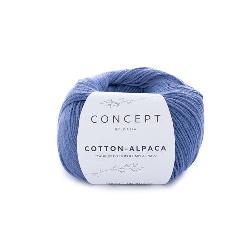 "Katia  ""Cotton-Alpaca"", Fb.93- Jeans"