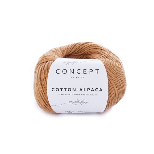 "Katia  ""Cotton-Alpaca"", Fb.98 - Hellbraun"