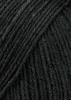 "Lang Yarns ""Super Soxx 6ply"" Anthrazit Mélange , Fb. 70"