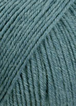 "Lang Yarns ""Super Soxx 6ply"" Petrol , Fb. 88"