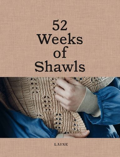 LAINE - 52 WEEKS OF SHAWLS - Versand am 30. April